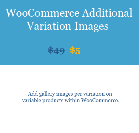 WooCommerce Additional Variation Images woobeast