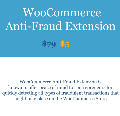 WooCommerce Anti-Fraud Extension Download From WooBeast