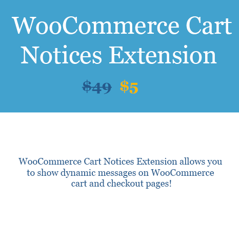 WooCommerce Cart Notices Extension download woobeast