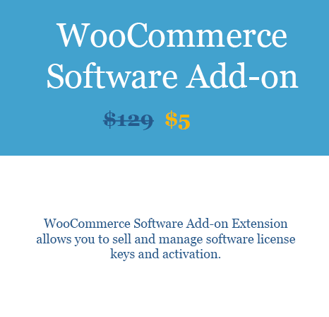 WooCommerce Software Add-on Extension download