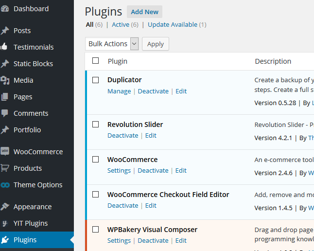 wordpress plugin installation1