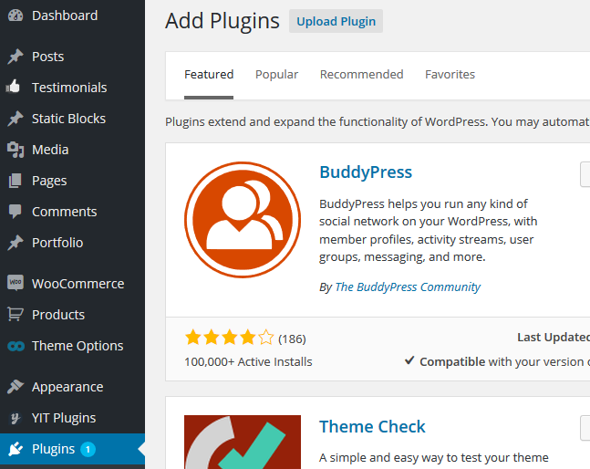 wordpress plugin installation2