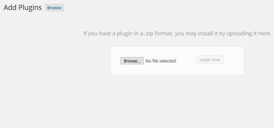 wordpress plugin installation3