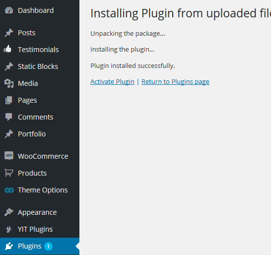 wordpress plugin installation4