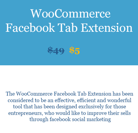 WooCommerce Facebook Tab Extension Download From WooBeast